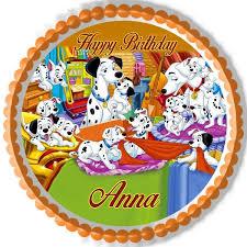 101 dalmatians edible cake topper u0026 cupcake toppers u2013 edible