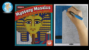 mindware mystery mosaics book number 6 coloring book speed