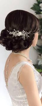 bridal hair combs pearl bridal hair comb wedding hair comb by adriajewelry on etsy