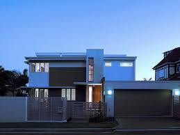 modern house architecture front view modern house style 3mt above