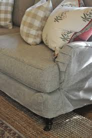 Pillow Arm Sofa Slipcover by Nine Sixteen Our Home New Slipcovered Sofa