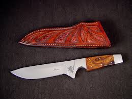 custom knife blades blade grinds geometry steel types finishes