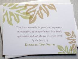 thank you for funeral flowers etiquette thank you notes for funeral flowers pictures reference