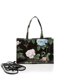 flip flop bag lyst ted baker tote vickay distinguish icon with flip