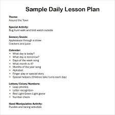 sample simple lesson plan template hitecauto us
