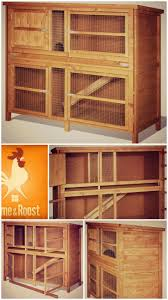 Cheap Rabbit Hutch 51 Best Rabbit Chicken Coop Hutch Ideas Images On Pinterest