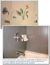 bathroom tile paint ideas perils of diy ceramic tile refinishing archives miracle method