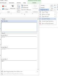 design header paper header page number microsoft word formatting your paper dewitt