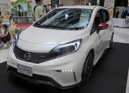 nissan note 2015 file nissan note nismo dba e12 front jpg wikimedia commons
