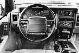 jeep grand interior 1993 jeep grand cherokee laredo interior motor trend