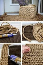 Make Your Own Outdoor Rug 13 Awesome Diy Rugs You Could Be Right Now Rope Rug