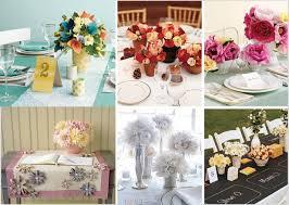 paper flower centerpiece ideas mid south bride