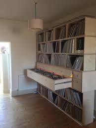 Lp Record Cabinet Furniture 68 Best Record Storage Images On Pinterest Vinyl Record Storage