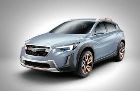 subaru xv green subaru xv concept previews next gen compact crossover autoguide