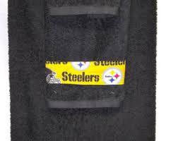 Steelers Bathroom Set Bath Towel Sets Etsy