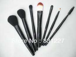 usa middot sleek makeup sleek makeup 7 piece make up brush set for powder blush foundation