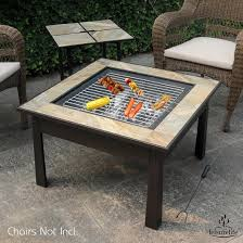 Firepit Coffee Table New Coffee Table Pit Leisurelifeâ 30 5 In 1 Square Coffee