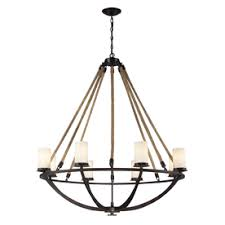 westmore lighting litherland 41 in 8 light aged bronze and opal