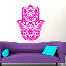 Wall Decals Mandala Ornament Indian by Art New Design Home Wall Stickers Vinyl Decals Yoga Fatima Hand