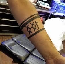 25 beautiful forearm band tattoos ideas on pinterest simple