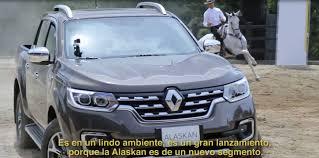 renault alaska renault alaskan 2017 evento en colombia youtube