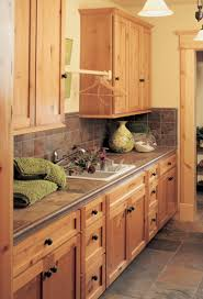 Canyon Kitchen Cabinets by Canyon Creek Cornerstone Shaker In Rustic Alder In A Honey Stain