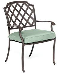CLOSEOUT Nottingham Cast Aluminum Outdoor Dining Chair Created - Outdoor aluminum furniture