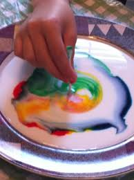 fun science color changing milk u2014 homegrown learners