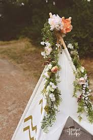 wedding backdrop garland teepee flower garland wedding backdrop silk flower garland