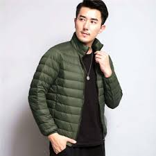 ultra light down jacket in a bag new men s ultralight down jackets feather hooded warm outwear with