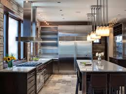 Stainless Steel Tiles For Kitchen Backsplash Kitchen Metal Backsplash Ideas Pictures Tips From Hgtv 14009607