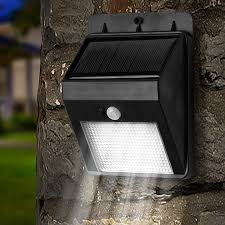 super solar powered motion sensor lights garden gear super bright 8 led solar powered motion sensor light