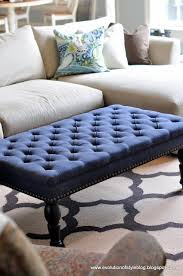 Colored Ottoman Colored Ottoman To Replace Coffee Table In Family Room For The