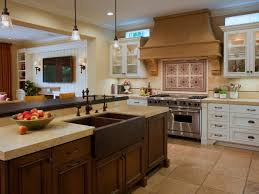 mission style kitchen island home design ideas