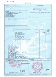 Blanket Certification Letter China Certificate Of Origin What An Importer Should Know