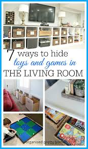 in the livingroom 7 ways to hide toys in the living room organised pretty home