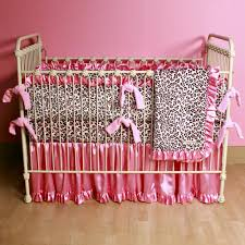 leopard print home decor useful pink leopard print crib bedding amazing home decor