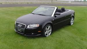 black audi convertible 2007 audi a4 cabriolet s garage audi a4 and cars