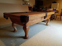 olhausen 7 pool table olhausen pool table for sale rare 7 model