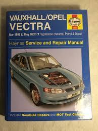 haynes vauxhall opel vectra 1999 2002 reparations och
