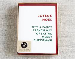 merry card boxed set cards boxed set joyeux