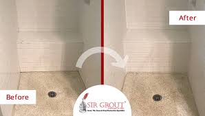 Cleaning Grout In Shower This Shower In Vienna Washington Dc Got Rid Of Grime Thanks To A