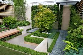 Small Garden Designs Ideas by Remarkable Glamour Modern Small Garden Design With Raised Beds