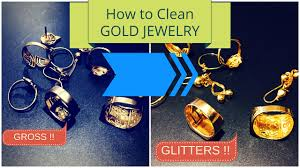how to clean gold jewelry at home how to clean gold jewellery at