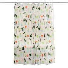 Mimi Shower Curtain Synthetic Fibers Shower Curtains U0026 Liners Target