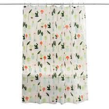 plants shower curtain green room essentials target