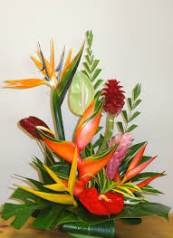tropical flower arrangements floral arrangements subject to availability of flowers
