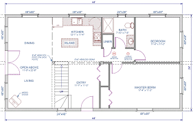 open loft house plans living big open space loft large additional bedroom floor