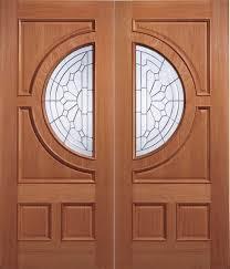 Double Glazed Wooden Front Doors by Hardwood Door U0026 Diyar Wood Main Double Door Pid004 Main Doors
