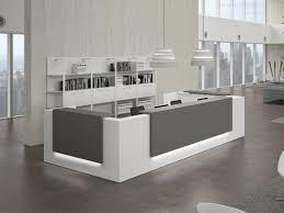 bureau design blanc bureaux d accueil design blanc achat bureaux d accueil design